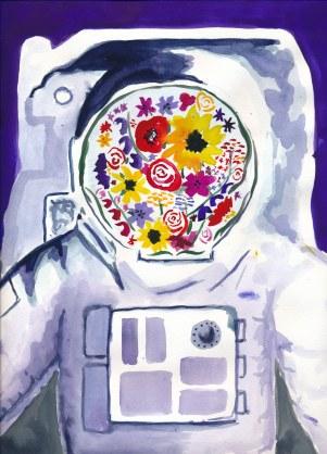 Astronaut's Garden - M Frank