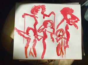 Red figures at ASL - M Frank