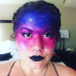 Space Face Makeup - M Frank